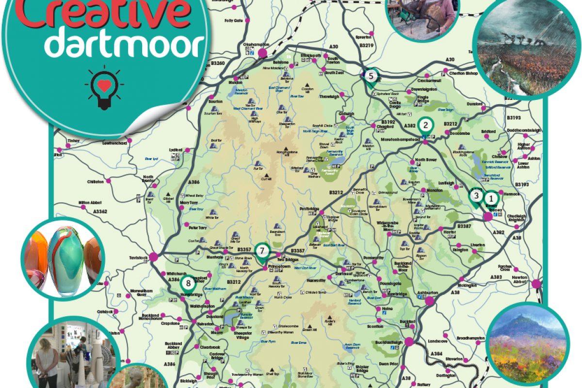 Creative Dartmoor map(2)